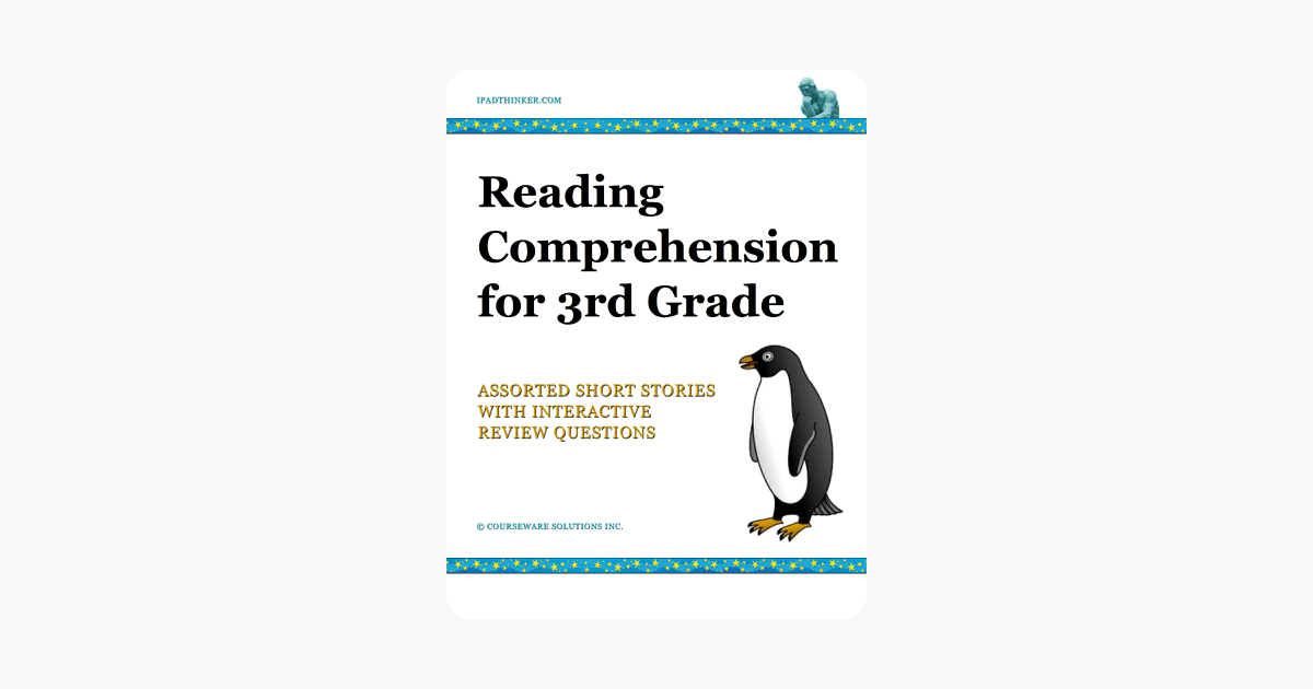 ‎Reading Comprehension for 3rd Grade on Apple Books