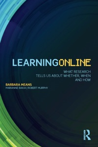 Learning Online - Barbara Means, Marianne Bakia & Robert Murphy pdf download