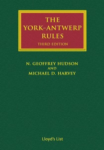 The York-Antwerp Rules: The Principles and Practice of General Average Adjustment - Michael Harvey pdf download