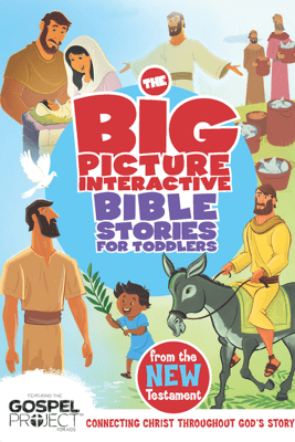 The Big Picture Interactive Bible Stories for Toddlers New Testament - B&H Editorial Staff & Heath McPherson