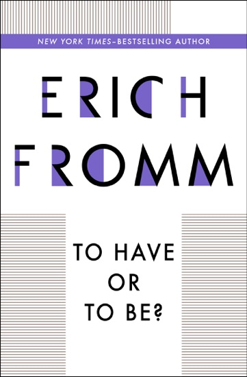 To Have or To Be? by Erich Fromm pdf download