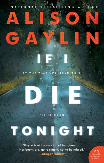 If I Die Tonight by Alison Gaylin pdf download