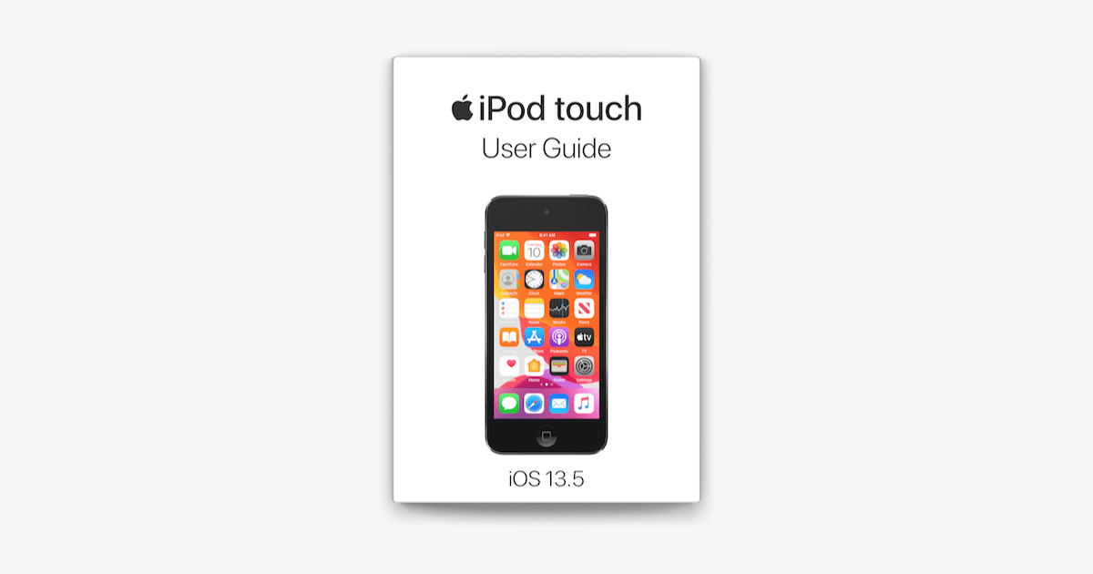 iPod touch User Guide on Apple Books