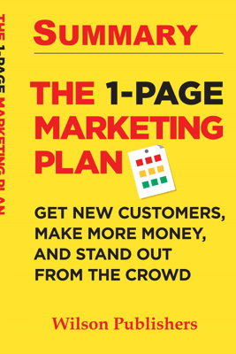 The 1: Page Marketing Book Summary - Wilson Publishers
