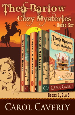 The Thea Barlow Box Set (Three Complete Cozy Mystery Novels) - Carol Caverly pdf download