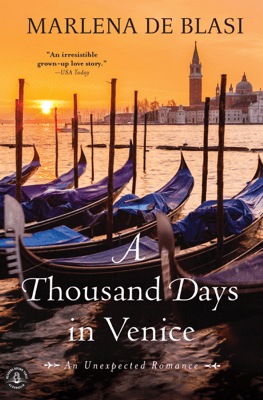 A Thousand Days in Venice - Marlena de Blasi pdf download