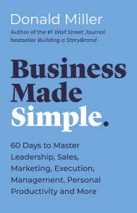Business Made Simple - Donald Miller pdf download