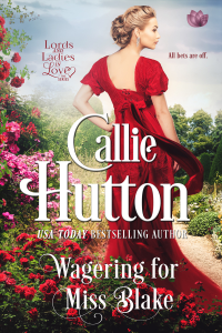 Wagering For Miss Blake - Callie Hutton pdf download