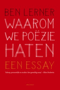Waarom we poëzie haten - Ben Lerner pdf download