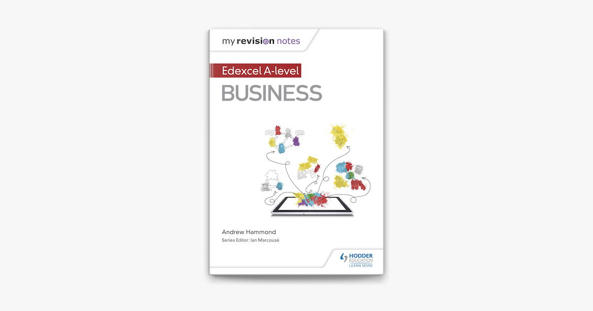 My Revision Notes: Edexcel A-level Business on Apple Books