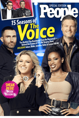 PEOPLE 15 Seasons of The Voice - The Editors of PEOPLE