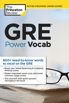 GRE Power Vocab - The Princeton Review