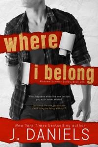 Where I Belong - J Daniels pdf download