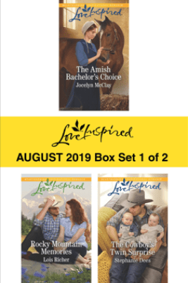 Harlequin Love Inspired August 2019 - Box Set 1 of 2 - Jocelyn McClay, Lois Richer & Stephanie Dees