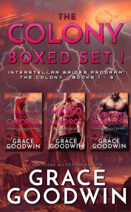 The Colony Boxed Set 1 - Grace Goodwin pdf download