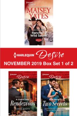 Harlequin Desire November 2019 - Box Set 1 of 2 - Maisey Yates, Karen Booth & Katherine Garbera