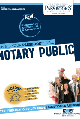 Notary Public - National Learning Corporation