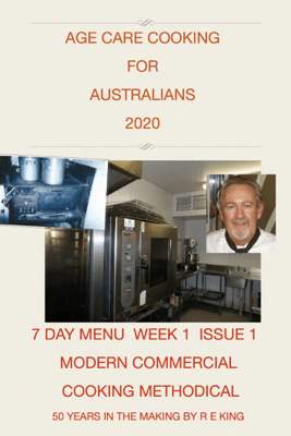 AGE CARE COOKING FOR   AUSTRALIANS - Russell Ernest,King