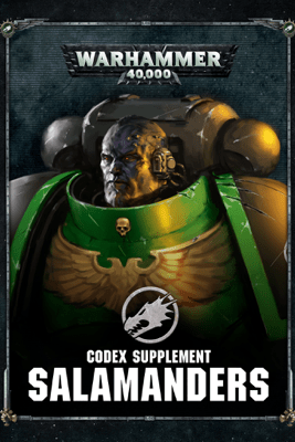 Codex supplement: Salamanders - Games Workshop