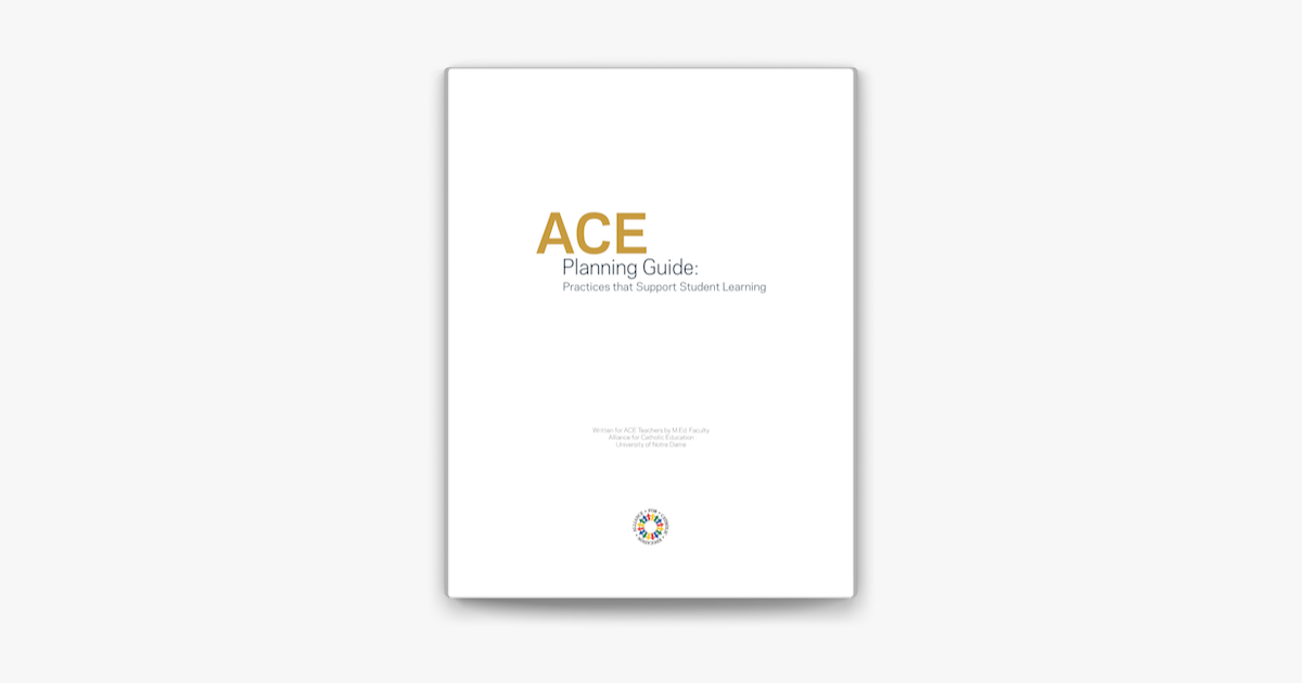 ‎ACE Planning Guide on Apple Books