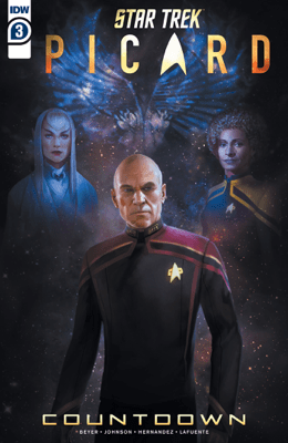 Star Trek: Picard—Countdown #3 - Kirsten Beyer, Mike Johnson & Angel Hernandez pdf download