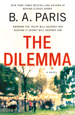 The Dilemma - B A Paris pdf download