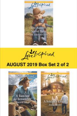 Harlequin Love Inspired August 2019 - Box Set 2 of 2 - Lee Tobin McClain, Patricia Johns & Jenna Mindel