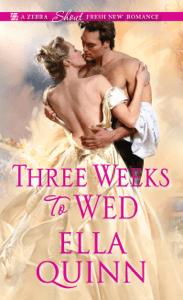 Three Weeks To Wed - Ella Quinn pdf download