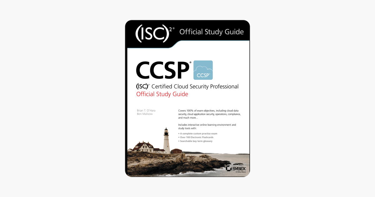 ‎CCSP (ISC)2 Certified Cloud Security Professional