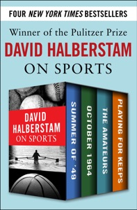 David Halberstam on Sports - David Halberstam pdf download