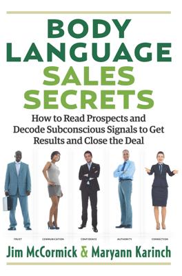 Body Language Sales Secrets - Maryann Karinch pdf download