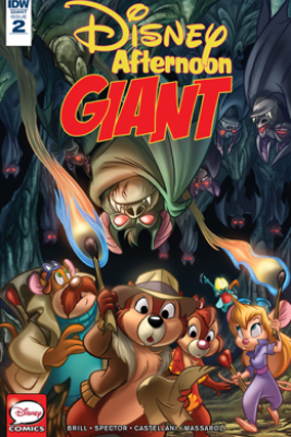 Disney Afternoon Giant #2 - Ian Brill, Warren Spector, Leonel Castellani & Jose Massaroli