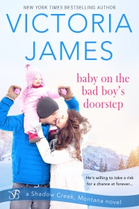 Baby on the Bad Boy's Doorstep - Victoria James pdf download