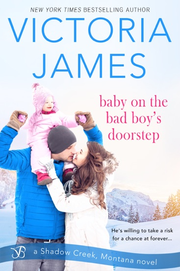 Baby on the Bad Boy's Doorstep by Victoria James PDF Download