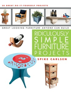 Ridiculously Simple Furniture Projects - Spike Carlsen pdf download