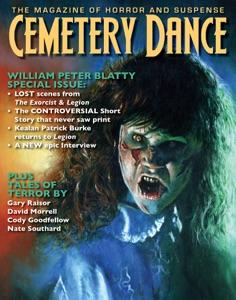 Cemetery Dance: Issue 62 - Richard Chizmar, William Peter Blatty, Gary Raisor, David Morrell, Cody Goodfellow & Nate Southard pdf download
