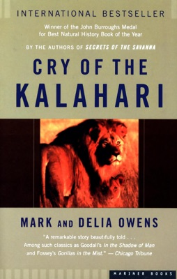 Cry of the Kalahari - Mark Owens & Delia Owens pdf download