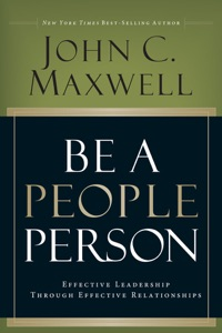 Be a People Person - John C. Maxwell pdf download