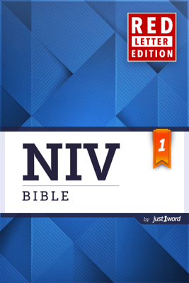 NIV Bible Red Letter Edition - Just1word, Inc.