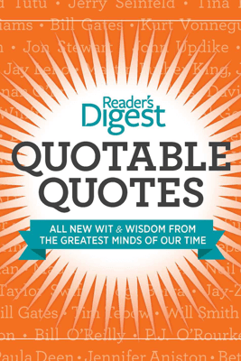 Quotable Quotes(Enhanced Edition) - Editors of Reader's Digest