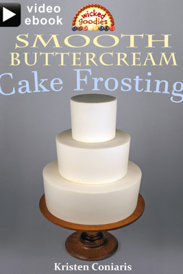 Smooth Buttercream Cake Frosting - Kristen Coniaris
