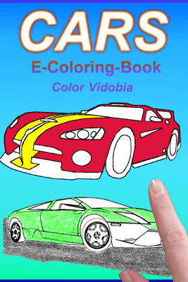 Cars – E-Coloring-Book - Color Vidobia