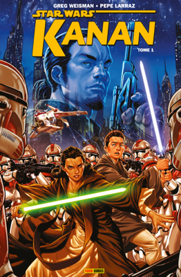 Star Wars - Kanan (2015) T01 - Greg Weisman & Pepe Larraz pdf download