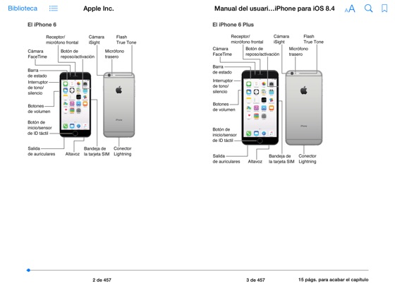 ‎Manual del usuario del iPhone para iOS 8.1 en Apple Books