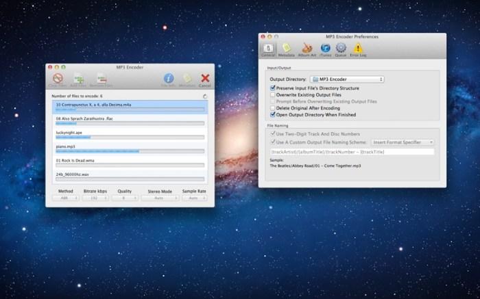 MP3 Encoder Screenshot 01 ikzeftn
