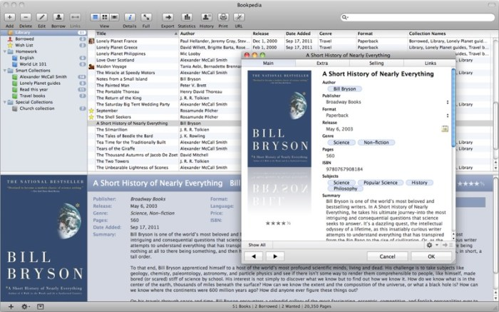 Bookpedia Screenshot 01 9omsern