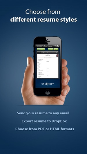 Pocket Mobile Resume PRO for iPhone on the App Store