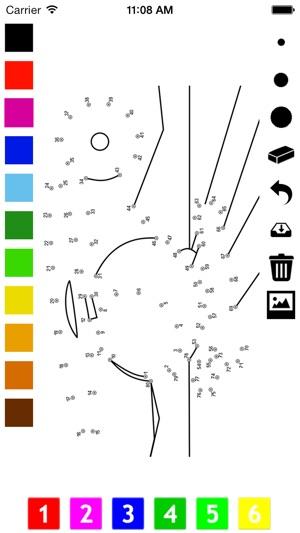 Malen Nach Zahlen Fr Kinder Aus Malbuch Und Punkte