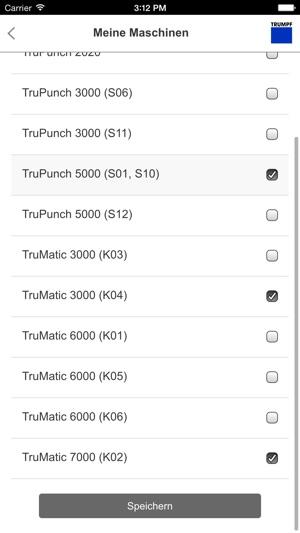 TRUMPF PunchGuide im App Store