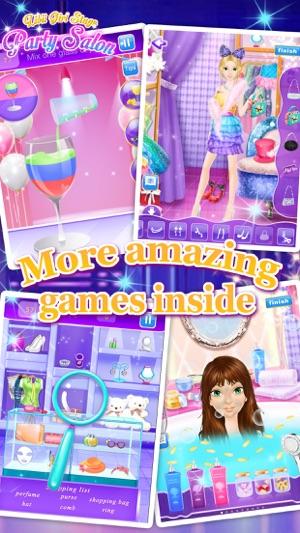 Party Salon - Girls Makeup & Dressup Games Screenshot